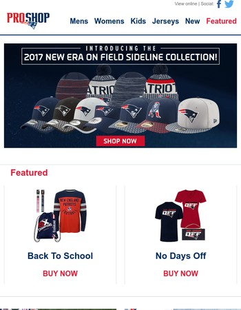 Check out the 2017 New Era On Field Sideline Headwear Collection