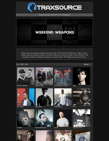 Traxsource LIVE! w/ Meggy  | Weekend Weapons | Shop New Pre-Orders | Soundcloud +++