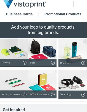 Get ready for the fall | Up to 15% off promotional products