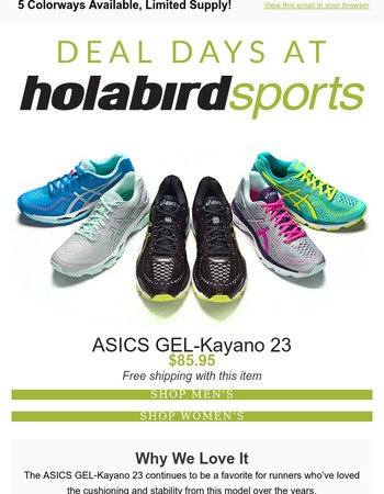 Today only, 54% Off ASICS GEL-Kayano 23