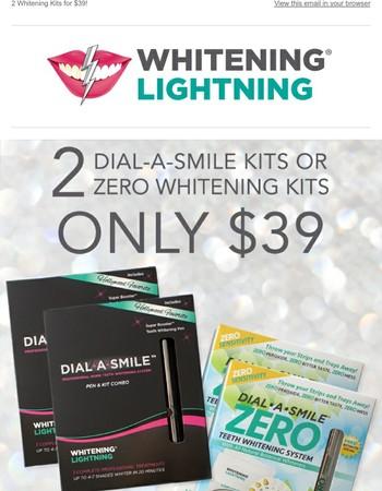 Whitening Lightning Newsletter