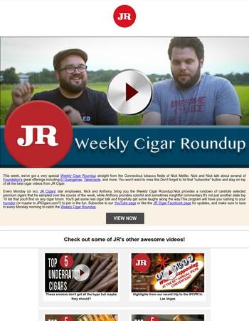 JR Cigarss Newsletter
