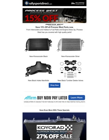 Check Out These Cool Savings - Process West Sale
