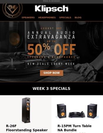 ORDER BY TOMORROW | Week 3 Deals End Saturday