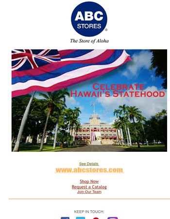 Celebrate Hawaii's Statehood Day with a Special Online Promotion