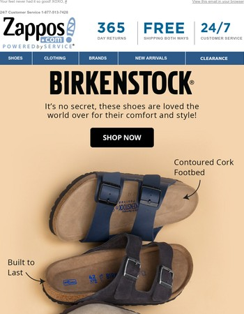 Birkenstock: Shoe Love Awaits