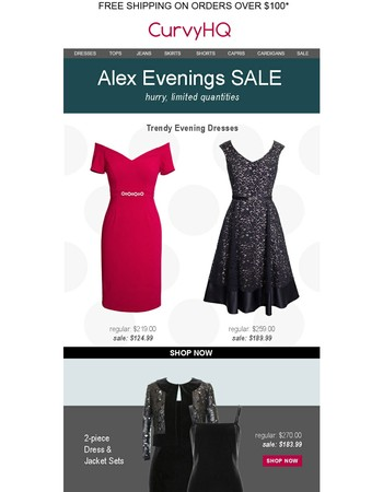 Alex Evenings on SALE: dresses, blouses, skirts & more