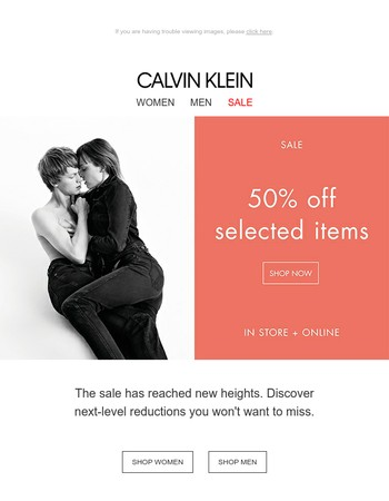 Don't miss out! 50% Off