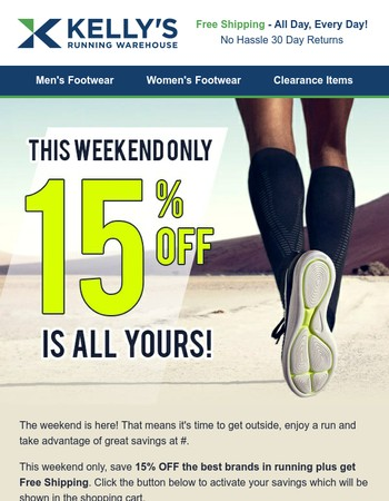 Hurry! 15% Off is waiting...