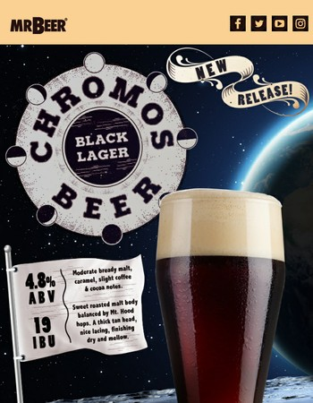 During the Solar Eclipse, you'll be able to see the ChromosBeer!