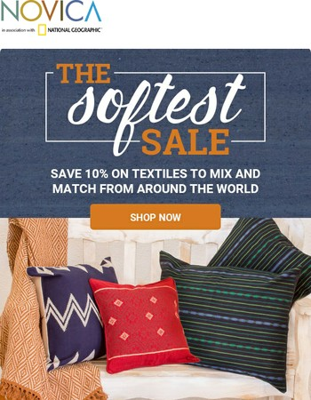 Textiles on Sale - Pillows, Bedding, Rugs + More!