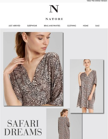 N Natori: Safari Dreams
