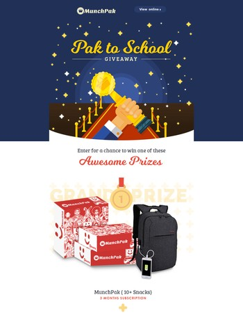 Win FREE Snacks for the Semester! Enter the Pak To School Giveaway!