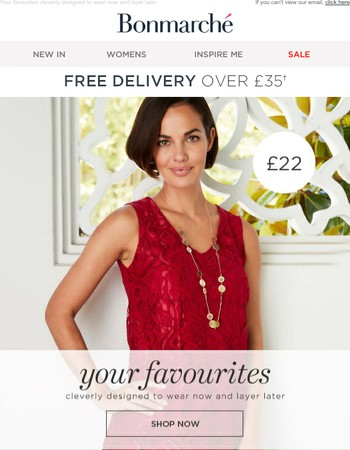 Favourite Tops & Dresses, Wear Now Layer Later + Final Clearance