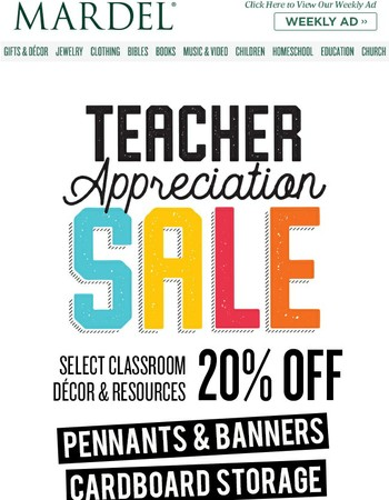 Teacher Tees for Only $5 + More Great Deals!
