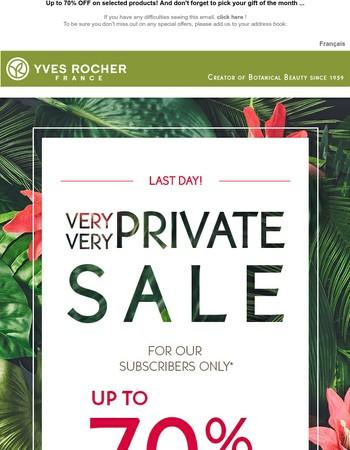 Yves Rocher Canada Newsletter