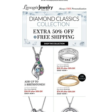 Last Day: The Diamond Sale Is Going, Going...