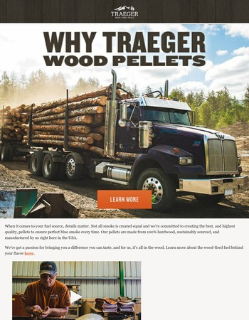 Why Traeger wood pellets