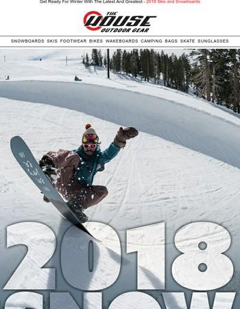2018 Gear From Your Favorite Brands: Burton, Lib Tech, Salomon and More...
