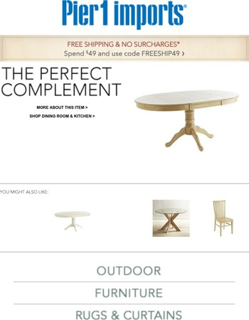 Take another look: Ronan Extension Natural Whitewash Dining Table