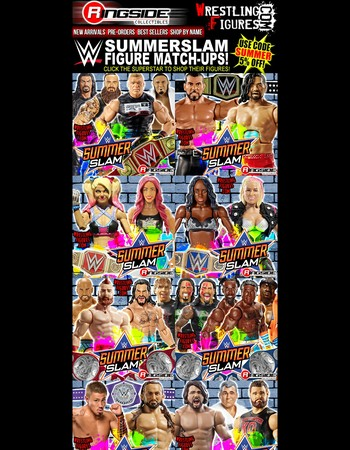 SummerSlam Match-Ups from Ringside!