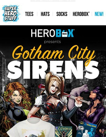 Gotham City Siren's Mystery Box