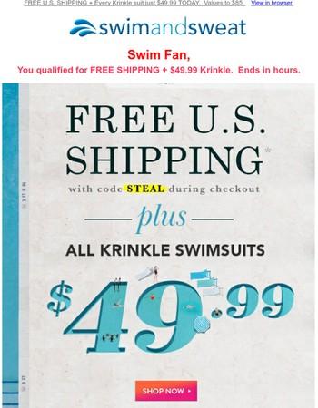 Swim Fan, Your FREE Offer Ends in ⏰ 6 Hours