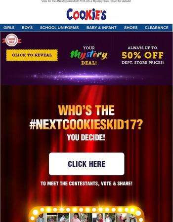 #NextCookiesKid17 Voting Begins NOW!