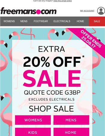 HURRY! 20% OFF Sale Ends Soon | Limited Stock!
