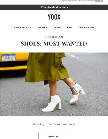 Inspiration: key footwear styles