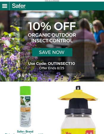 Looking for Peace from Insects While Enjoying the Outdoors?