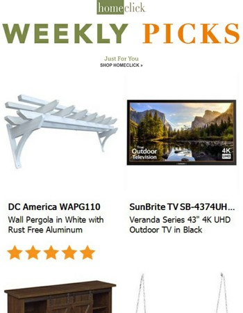 Your weekly picks just for you!