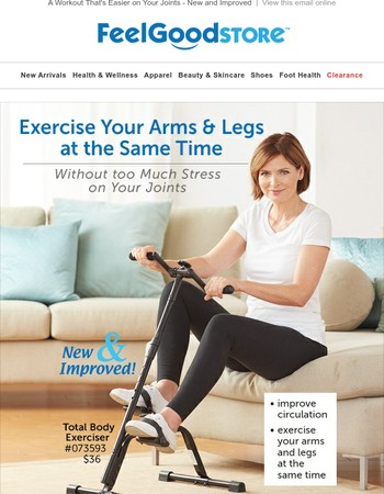 A Workout That's Easier on Your Joints - New & Improved