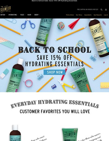 Stock Up on Back to School Essentials and Save 15%