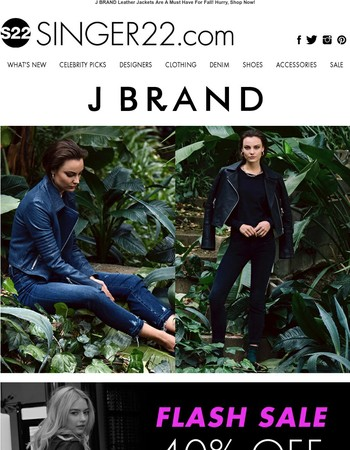 New Week, New Look From J BRAND