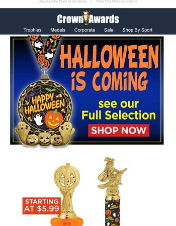 Halloween Awards Are In!