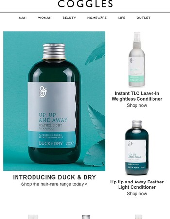 Introducing Duck & Dry