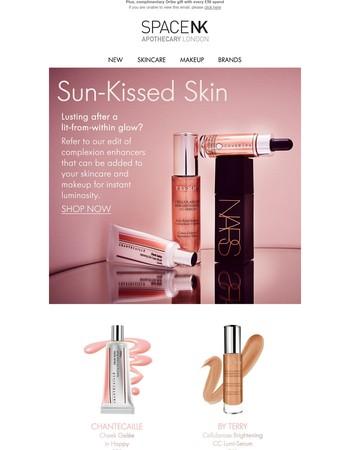 Four quick ways to get glowing summer skin