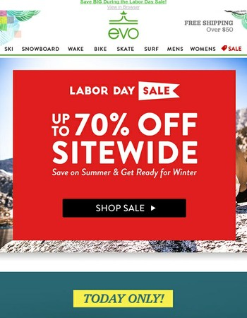 BOOM! Up to 70% off Sitewide Starts Today!