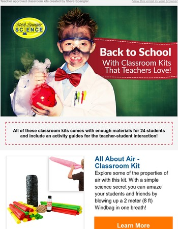 Back to School with Classroom Kits that Teachers Love!