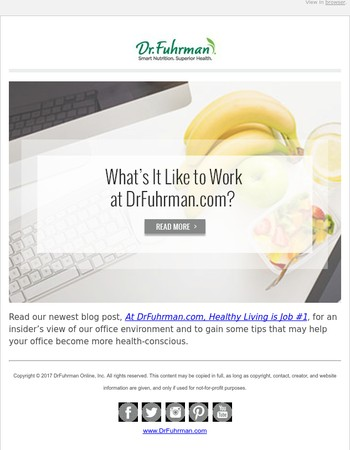 What's it Like to Work for Dr. Fuhrman? Here's an Inside Look!