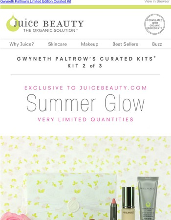 Gwyneth Paltrow gives the gift of #SummerGlow ✨