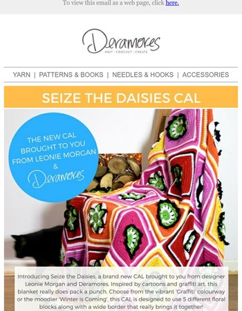 NEW CAL! Discover Seize The Daisies Today