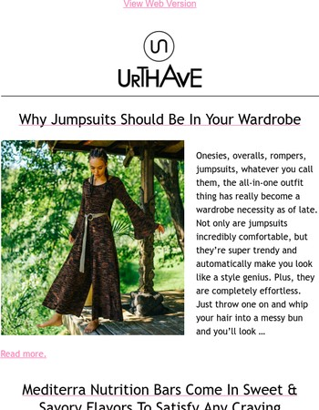 Why Jumpsuits Should Be In Your Wardrobe!
