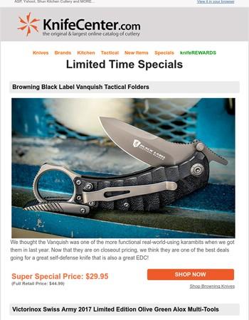 KnifeCenter Newsletter