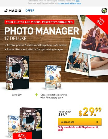 Keep your treasured memories safe with the new Photo Manager 17 Deluxe!