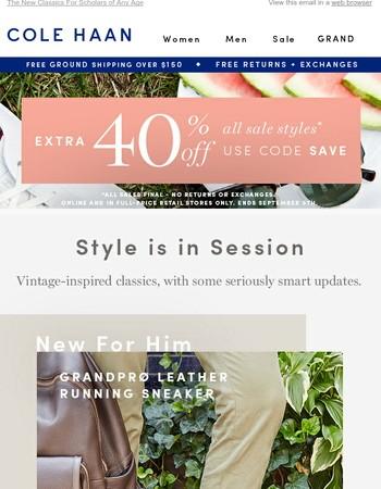 New Smart Styles + Sale on Sale