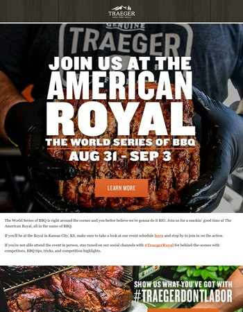 Join Us At the World Series of BBQ