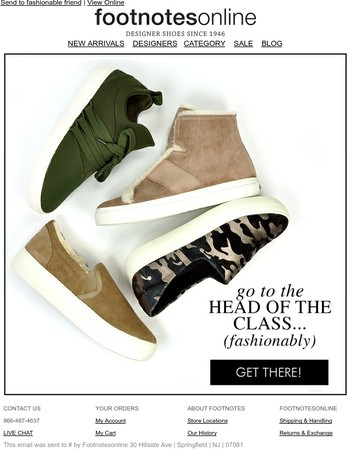 Ace Fall Fashion & Go Straight to the Head of the Class