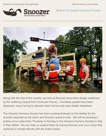 Help Animals Suffering from Hurricane Harvey